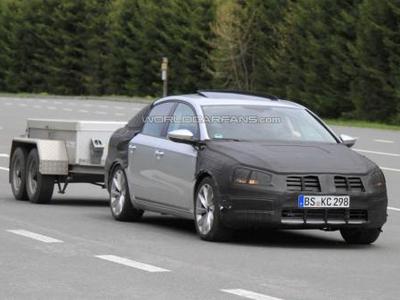 Volkswagen Passat. Фото S.B.Medien с сайта worldcarfans.com