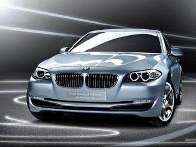 BMW 5-Series Active Hybrid. Фото BMW