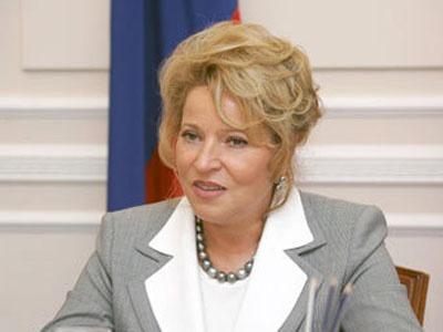 Валентина Матвиенко. Фото с сайта администрации Санкт-Петербурга