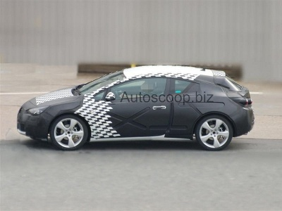 Opel Astra. Фото autoscoop.biz с сайта autoexpress.co.uk