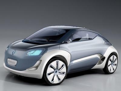 Renault Zoe Concept. Фото Renault