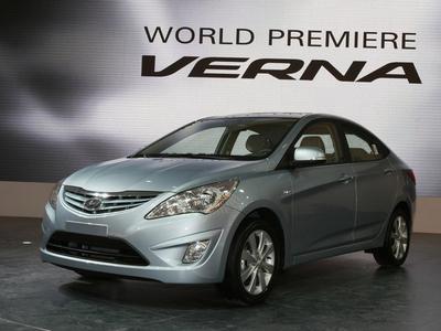 Hyundai Verna. Фото Hyundai