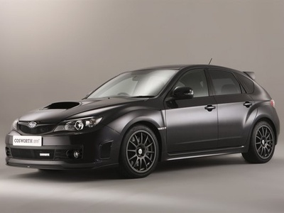 Impreza WRX STi CS 400. Фото Cosworth