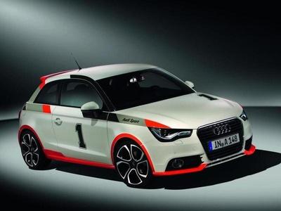 Audi S1. Иллюстрация Volkswagen