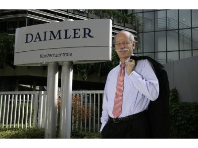 Дитер Цетше, Председатель Совета директоров Daimler AG. Фото Daimler