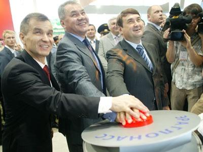 Министры МВД, МЧС и Транспорта на выставке «комплексная безопасность» на демонстрации пилотного проекта ЭРА ГЛОНАСС - ОАО «НИС»