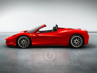 Ferrari 458 Itali Spyder. Иллюстрация с сайта teamspeed.com