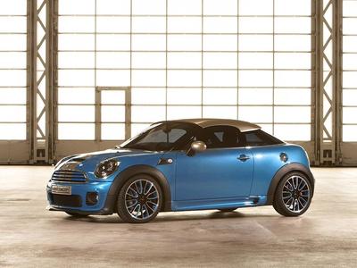 Mini Coupe Concept. Фото Mini