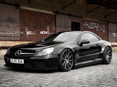 Mercedes-Benz SL65 AMG от TC-Concepts. Фото TC-Concepts