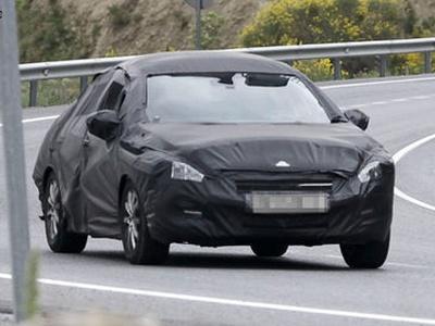 Peugeot 508. Фото с сайта autoexpress.co.uk