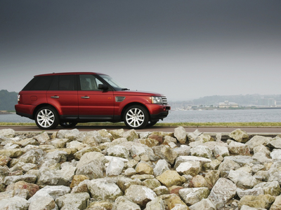 Range Rover Sport. Фото Land Rover