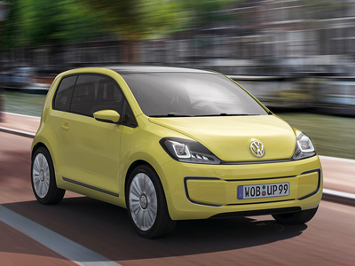 Volkswagen E-Up Concept. Фото Volkswagen