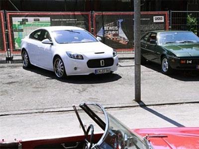 Opel Insignia с внешностью от Bitter. Фото с сайта Tuning.bg