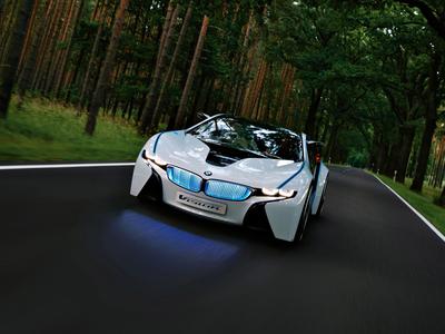 BMW Vision EfficientDynamics. Фото BMW