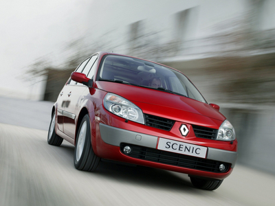 Renault Scenic (2003). Фото Renault