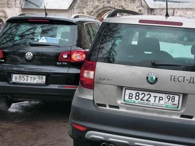 Volkswagen Tiguan и Skoda Yeti. Фото Игоря Кузнецова, 5 колесо