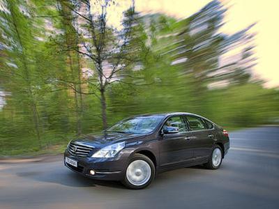 Nissan Teana Four. Фото Ленты.ру и компании Nissan