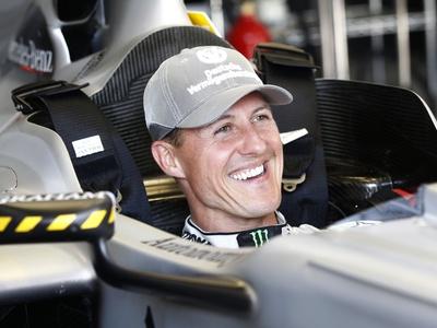 Михаэль Шумахер. Фото Mercedes GP