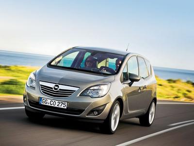 Opel Meriva. Фото компании Opel с сайта autoreview.ru