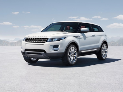 Range Rover Evoque. Фото Land Rover