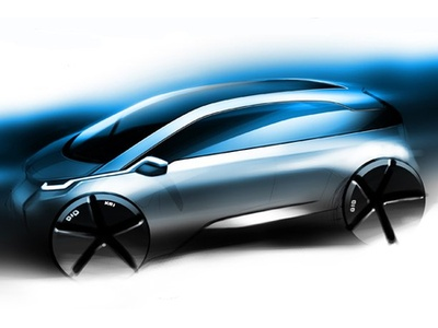 BMW Mega City. Иллюстрация BMW