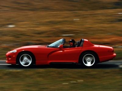 Viper 1992. Фото Dodge