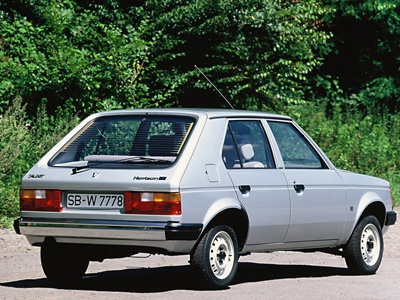 Talbot Horizon 1978. Фото Talbot