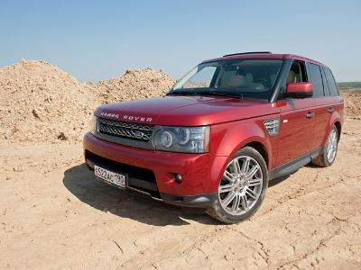 Range Rover Sport. Фото Антона Агаркова и Михаила Кульдяева с сайта autoweek.ru