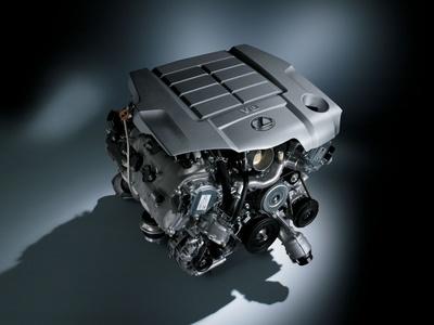 Двигатель Lexus V8. Фото Lexus