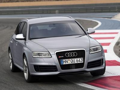Audi RS6. Фото Audi