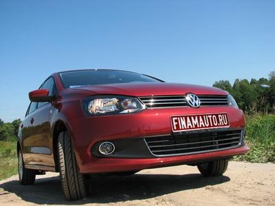Volkswagen Polo Sedan. Фото Finamauto.ru