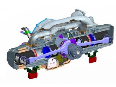 Одна из разработок EcoMotors. Иллюстрация с сайта ecomotors.com
