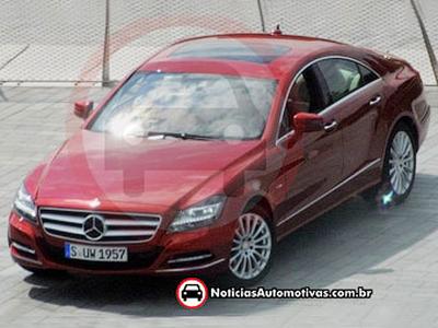 Mercedes-Benz CLS. Фото с сайта noticiasautomotivas.com.br