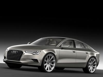 Audi Sportback Concept. Иллюстрация Audi