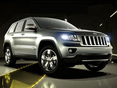 Grand Cherokee 2011. Фото Jeep