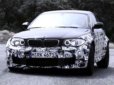 Скриншот видео-тизера М-версии BMW 1 Series