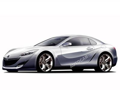 Предполагаемый внешний вид Mazda RX-7. Иллюстрация Autocar