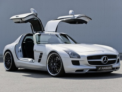 Mercedes-Benz SLS AMG от Hamann. Фото Hamann Motorsport
