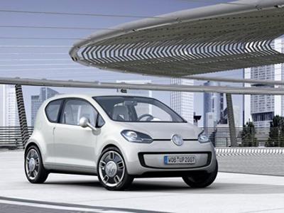VW UP! Фото VW