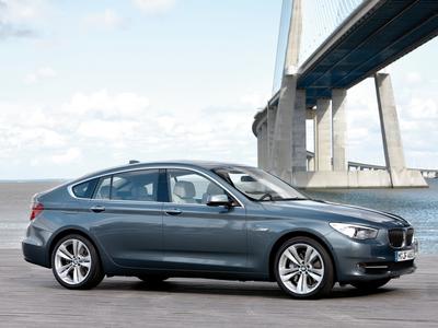 BMW 5 Series GT. Фото BMW