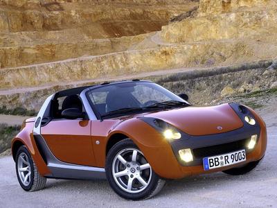 Smart Roadster. Фото Smart
