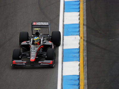 Бруно Сенна. Фото Hispania Racing Team