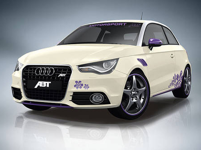 Audi A1 Abt Sportsline. Фото Abt Sportsline