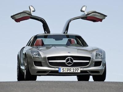 Фото Mercedes-Benz SLS AMG. Фото Mercedes