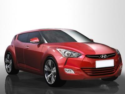 Hyundai Veloster. Иллюстрация Hyundai