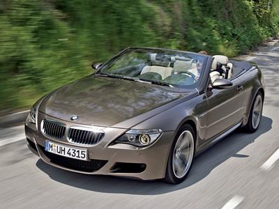 BMW M6 Cabrio. Фото BMW