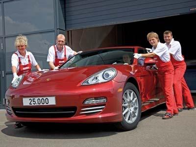Юбилейный Porsche Panamera. Фото Porsche
