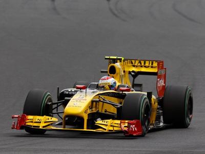 Виталий Петров. Фото Renault F1 Team