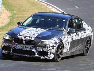 BMW M5 будущего поколения. Фото с сайта autocar.co.uk
