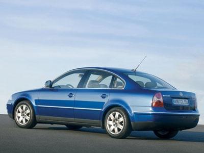 Passat 2003. Фото VW